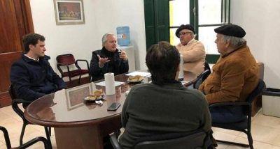 El Presidente del Senado Federico Pinedo visitó la Planta Potabilizadora y Envasadora de Las Chacras