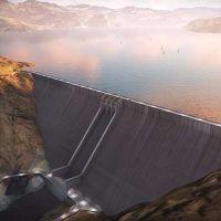 Representantes de 26 empresas recorrieron el terreno donde se emplazará una mega represa