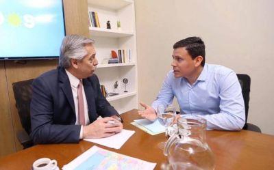 Aguilera busca destronar a Galli en Olavarría con la bendición de Alberto Fernández