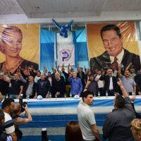 Moyano vino a La Plata a apoyar a los candidatos de Todos