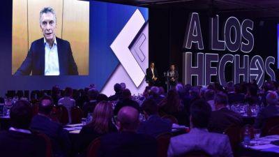 Macri cruzó a los empresarios en Idea: