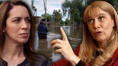 Pelea entre Magario y Vidal por las inundaciones: técnicos explican quién es responsable de las obras que faltan
