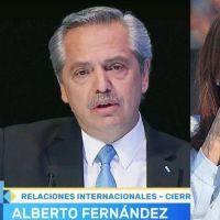 El dedo de Alberto y la lengua de Cristina