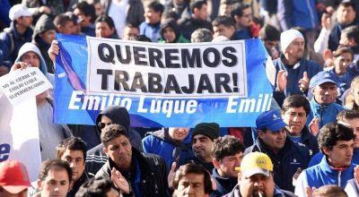 Luque confirmó que despide a los 1200 empleados y que les pagará sólo el 60% de las indemnizaciones y en cuotas