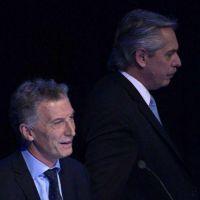 La pelea entre Macri y Alberto: discutieron fuera de cámara y al final hubo un saludo frío