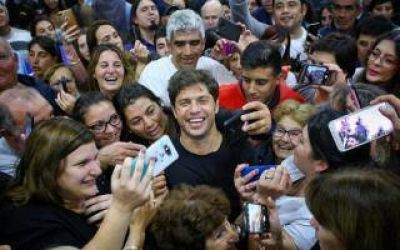 Elecciones 2019: Kicillof de campaña en San Pedro, Zárate y Campana
