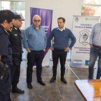 Seguridad: Abella destacó la inversión tecnológica realizada para que los vecinos vivan mejor