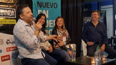 """Menéndez en la Charla Vagabunda: """"Tenemos como gran desafío matar el hambre de nuestro pueblo"""""""