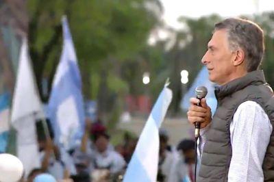 Mauricio Macri: un raid final por el interior y el objetivo de revertir el voto
