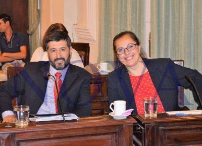 La concejal Eugenia Ruiz le puso los puntos a