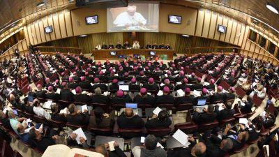 El cardenal Hummes presentó el borrador del Documento final