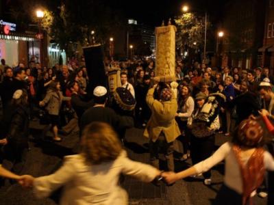 La Diáspora Judía celebra la Fiesta de Culminación de la Lectura Anual del Libro Sagrado