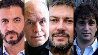Los candidatos porteños cierran su campaña con recorridas por la Ciudad