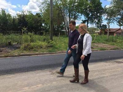 Di Césare y Mayol compartieron jornada de trabajo en Monte