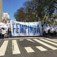 La FeMPINRA se solidarizó con Chile