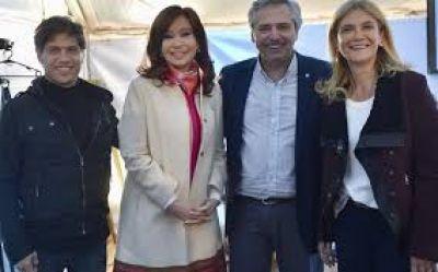 Cristina, al centro de escena: cierre con Kicillof en La Plata y MDQ junto a Alberto