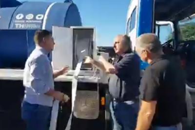 Passalacqua entregó al Eprac un camión para el abastecimiento de agua potable en zonas críticas