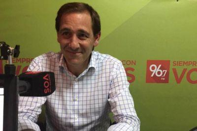 """Julio Garro: """"Para la política las obras hidráulicas no traían votos, pero nosotros las preferimos porque es salvar vidas"""""""