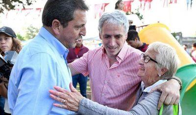 """Sergio Massa en Chascomús: """"Viene una Argentina sin vencedores ni vencidos"""""""