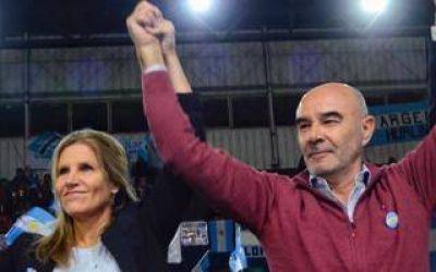 Cynthia Hotton, vice de Gómez Centurión, desafía a Magario con un cierre de campaña en La Matanza