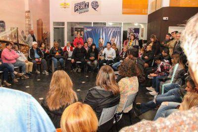 Pérez encabezó el último plenario de la campaña