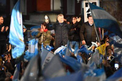 """Macri llamó a """"cuidar el voto"""" y a """"cambiar la historia para siempre"""""""