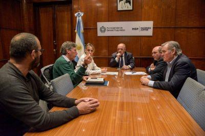 Arroyo firmó un convenio para el estudio del aprovechamiento del biogás generado en el predio de residuos