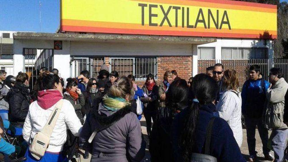 """""""Textilana ya despidió a 25 trabajadores"""""""