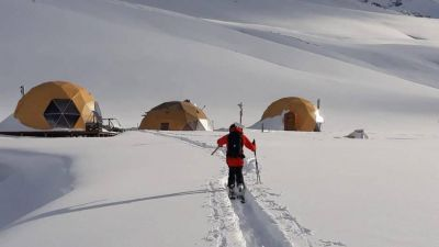 Avanza la construcción del centro de esquí sustentable más importante de Latinoamérica