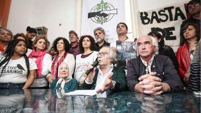 Junto con Perez Esquivel y Nora Cortiñas, la CTA Autónoma y ATE rechazaron la brutal represión al pueblo chileno