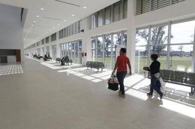 Ya fueron solucionados los problemas de desagüe en la Maternidad del nuevo hospital Iturraspe