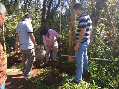 El Soberbio: Unas 150 familias de comunidades guaraníes ya tienen acceso al agua para su consumo