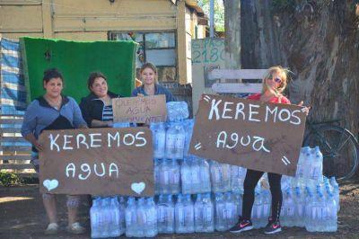 Vecinos de La Movediza siguen pidiendo que llegue el agua potable al barrio