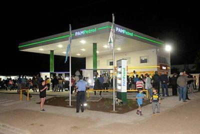 Inauguraron estación de servicio en Toay