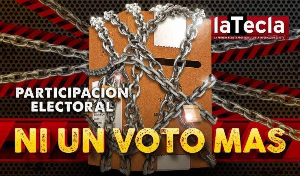 Ni un voto más, la participación electoral en la mira