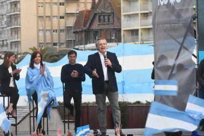 Alberto Fernández y Cristina Kirchner pidieron votar lista completa y cerrar el ciclo del neoliberalismo