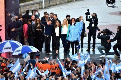 """Cristina Kirchner: """"No estamos cerrando una campaña, estamos cerrando un ciclo histórico"""""""