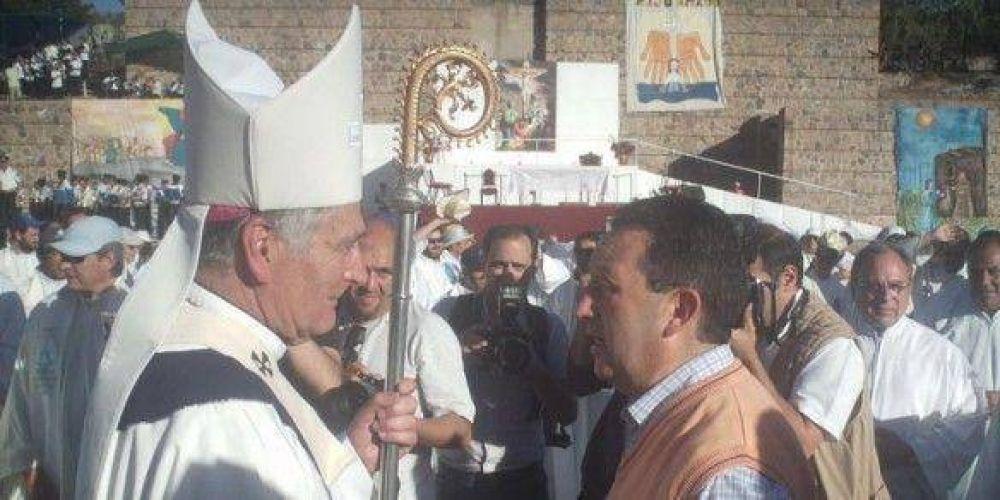 Jaque respiró aliviado porque Monseñor Arancibia no lo criticó