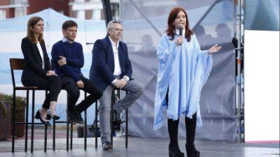Fuerte respaldo de Axel, Cristina y Alberto a la candidatura de Raverta