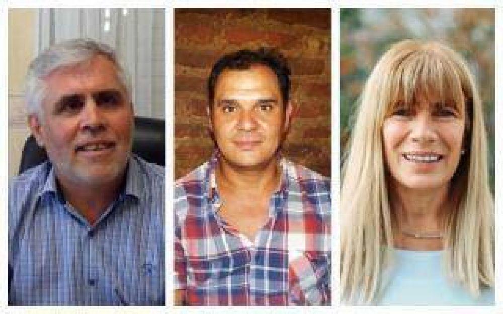 Elecciones en Gonzales Chaves: Puede ganar cualquiera de los tres candidatos