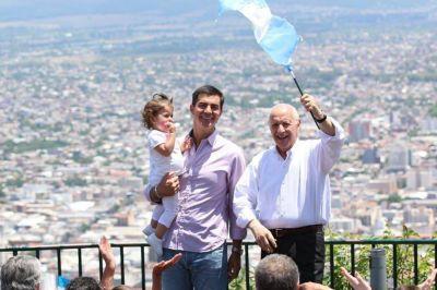 Roberto Lavagna cerró su campaña en Salta: