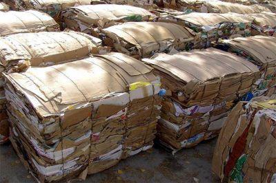 Recolección para reciclaje de papel y cartón