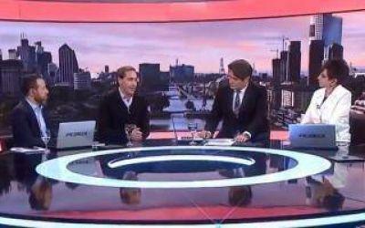 Garro habló en televisión y defenestró a Saintout: