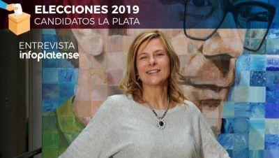 """Saintout: """"mi objetivo es trabajar en La Plata para reconstruir el entramado social"""""""