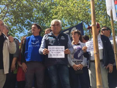 """Sindicato de Guincheros denunció """"negocio inmobiliario"""" en el Puerto de Buenos Aires"""