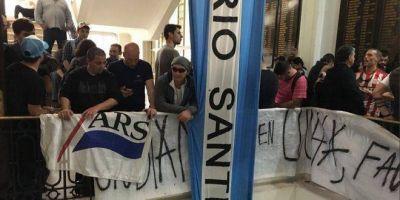 Trabajadores de astilleros rechazan la importación de un buque para la Armada Argentina