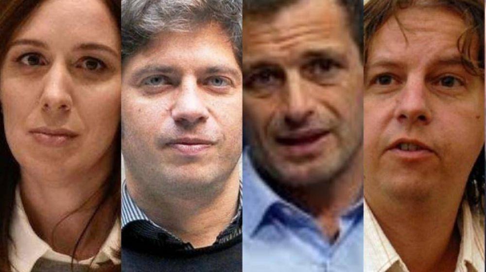 Los candidatos a gobernador de Buenos Aires emitirán sus votos y se juntaron con sus familiares