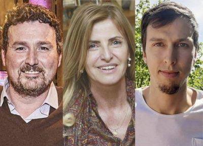 Tres candidatos en busca de la Intendencia