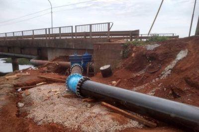 Iprodha entregó obras de agua potable