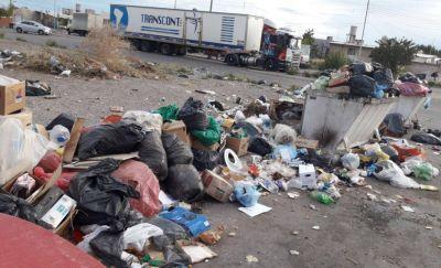 Siguen los problemas de basura en Rawson